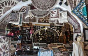 آشنایی با هنر قلمکاری - بازار اصفهان