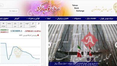 بورس تهران 3799 واحد ریزش کرد