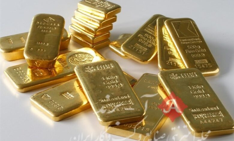 قیمت جهانی طلا امروز 1400/01/09