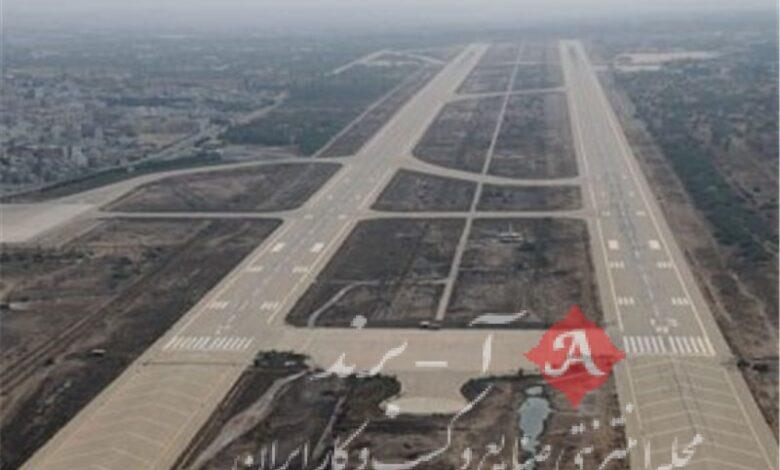 آمادگی فرودگاه بوشهر برای پروازهای امدادی کمک به زلزله زدگان
