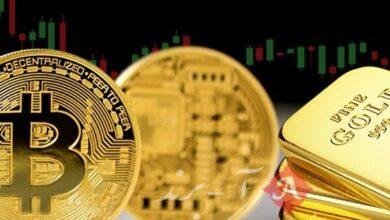 افت ارزش طلا در برابر صعود رمز ارزها