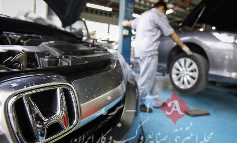 فراخوان هوندا برای بیش از 628 هزار خودرو در آمریکا به دلیل نقص فنی