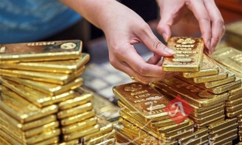 قیمت جهانی طلا امروز 1400/01/21