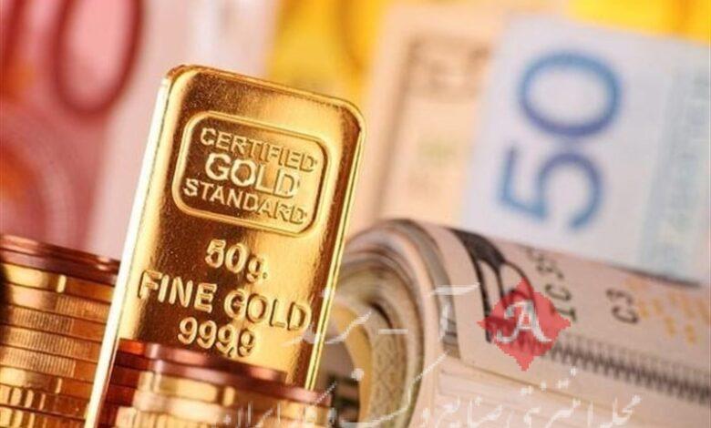 قیمت طلا، قیمت سکه، قیمت دلار و قیمت ارز امروز 1400/01/14 کاهش قیمت طلا و ارز/ دلار ارزان شد