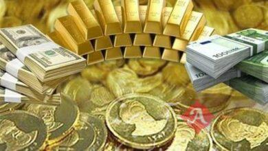 قیمت طلا، قیمت سکه، قیمت دلار و قیمت ارز امروز 1400/01/23|آخرین قیمتها در بازار طلا و ارز/دلار رشد کرد؟