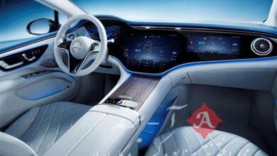 مرسدس بنز از مدل برقی خودروی پرچمدار خود رونمایی کرد