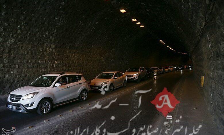 وضعیت راههای کشور  ترافیک نیمهسنگین در آزادراه قزوین-کرج/ افزایش 31 درصدی تردد در جادهها