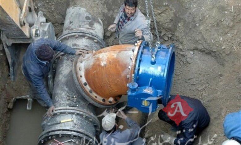 کاهش 13 درصدی حوادث شبکه توزیع آب در منطقه 4 تهران
