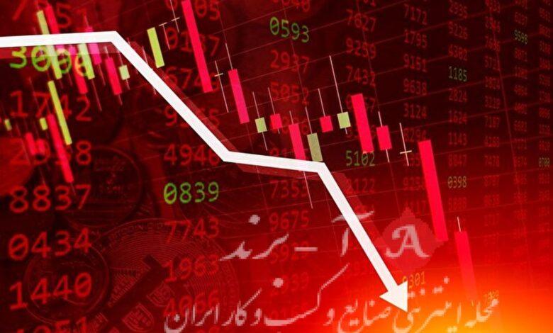 کاهش ۹ هزار واحدی شاخص بورس تهران