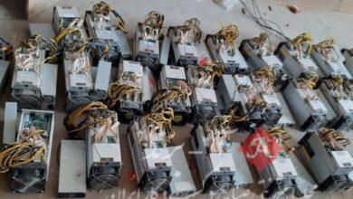 ۲۱ دستگاه استخراج ارز دیجیتال قاچاق در مراغه کشف شد
